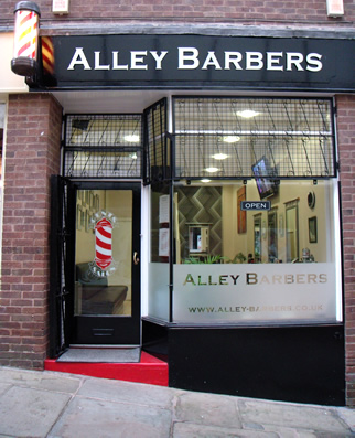 Alley Barbers Exterior